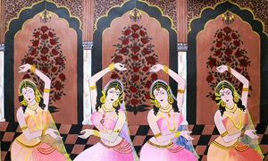 Dancers in the Mughal Court