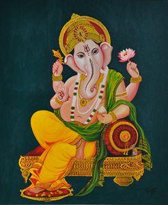 Traditional Ganesha