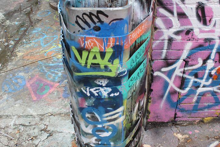 Corner Graffiti Howard Street - TMphotographyBaltimore