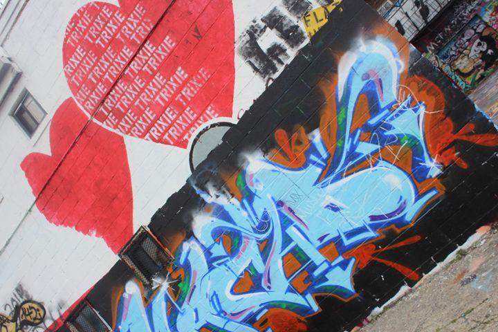 The Heart of Graffiti Howard Street - TMphotographyBaltimore