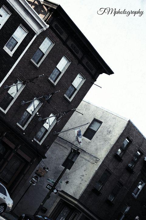 Side view of Fleet Street - TMphotographyBaltimore