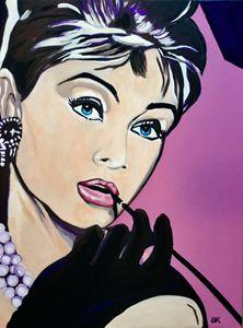 Audrey Hepburn. Movie star
