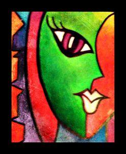Pop Art Faces (II) by Nicole Settimi