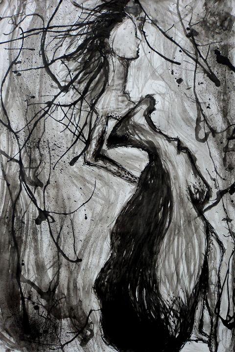 Fashion Ink Sketch - Molly de Jong