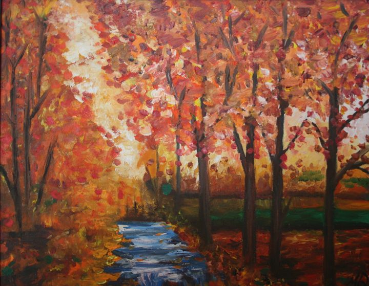 Fall Scene - Molly de Jong