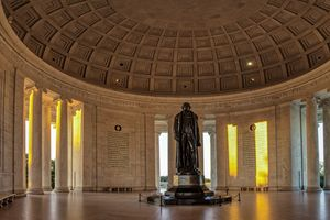Jefferson Memorial in Morning Light