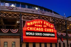 Chicago Cubs Win - Vision & Light Photography