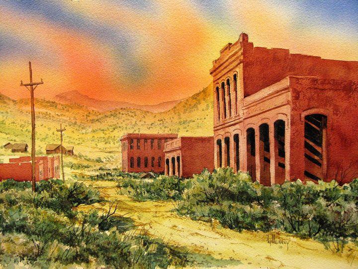 Aurora Ghost Town Nevada - Heaney Art Gallery