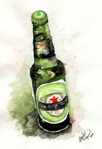 Watercolors and Alcohol