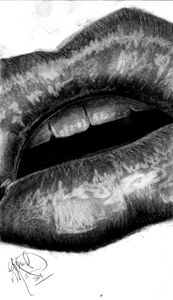 Charcoal Lips