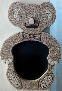 Teddy mosaic - Chez Palenque