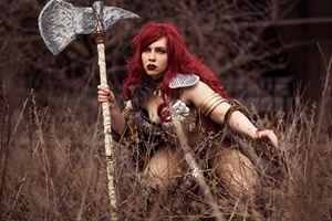 Red Sonja 001