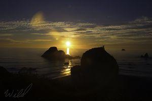 Camel Rock Sunset 1 of 3