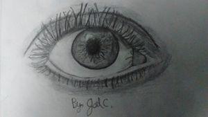 Eye of iris