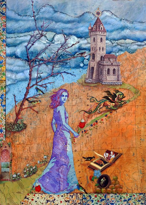 The Travelers Tale: Once Upon a Time - Sharmon Davidson Art