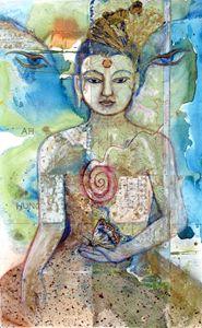 Butterfly Buddha Child