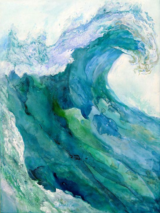 Wave - Sharmon Davidson Art
