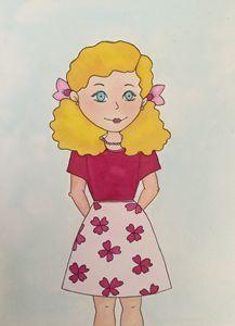 Blondie In Pink