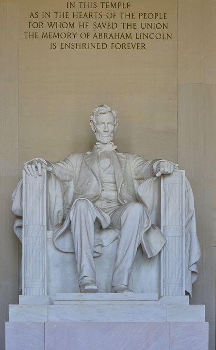 The Lincoln Memorial - Frozen Face