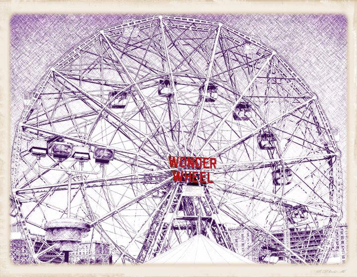 Wonder Wheel - Frozen Face