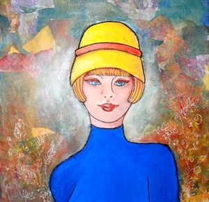 Lady with the Yellow Hat
