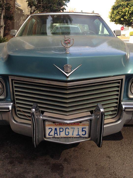 Classic California Cadillac - Joshua Levi Anderson