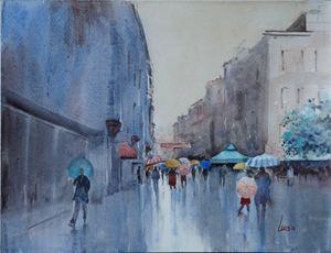 Rainy Day, Sarajevo