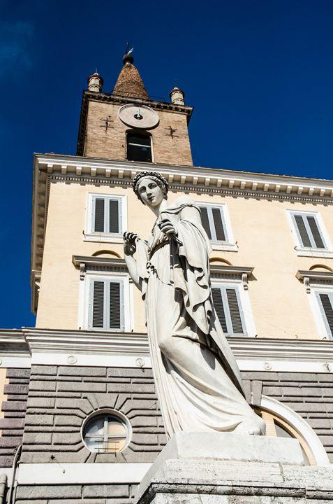 Rome 4 - statue portrait - Justin Short