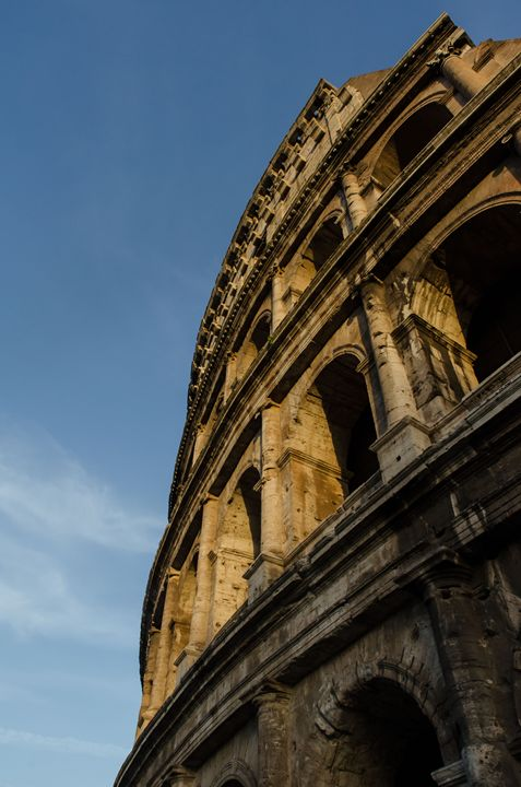 Rome 10 - Colosseum detail - Justin Short