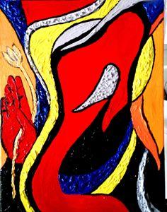 Ganesh dans l'esprit de Picasso - Kanohi Matta