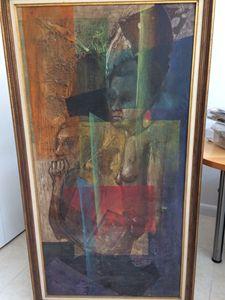 Original Haitian Abstract