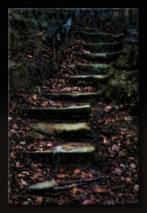 Stairway by Moonlight - Sheryl Gerhard