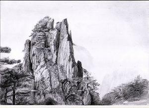 great mountain rock