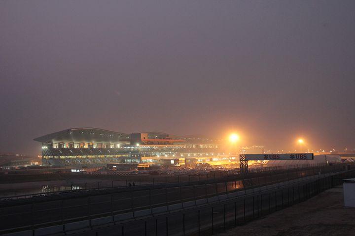 Buddh International Circuit at Night - Indiartica