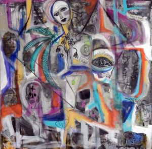 Street Art Madonna