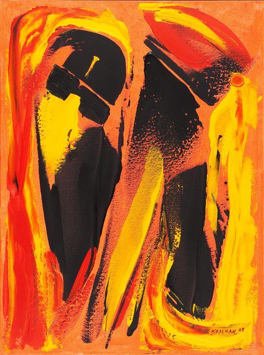 Blues Brothers - Art by Peter Koschak, CH, SLO
