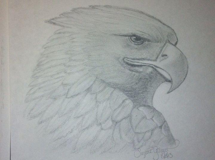 Eagle Eye - LeahLevinArt