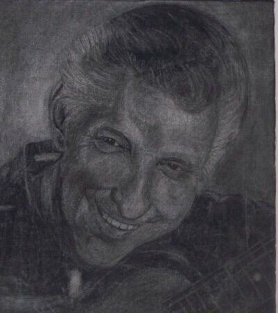 Charcoal with a Personal Touch - LeahLevinArt