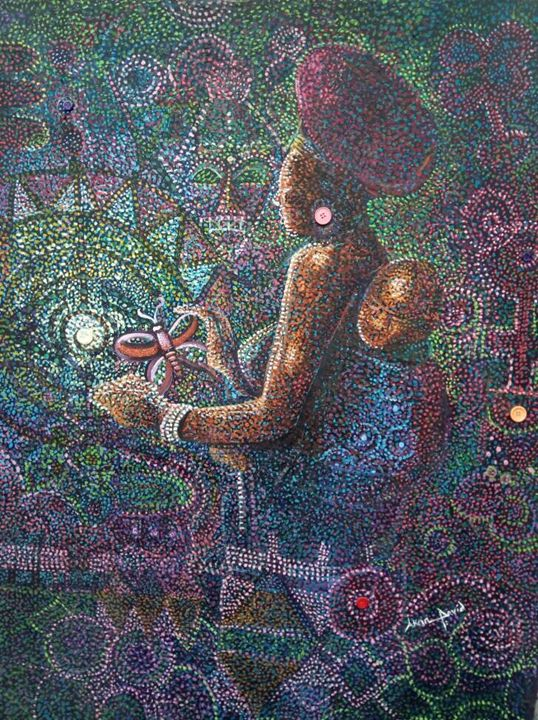 Mother Care - Akan David Art
