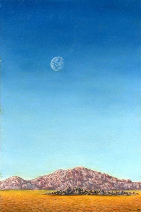 Desert Moonrise - ConArt