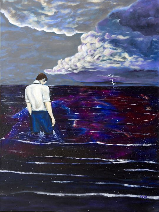 Stormy Thoughts and Starry Seas - Adrian Alexander
