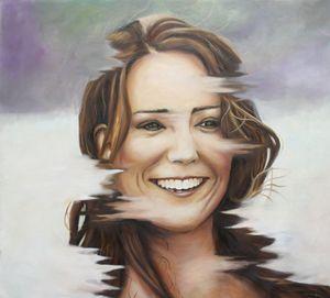 Portrait of Kate Middleton