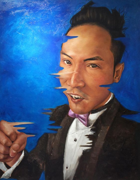 Portrait of Chinese Man - ah shui