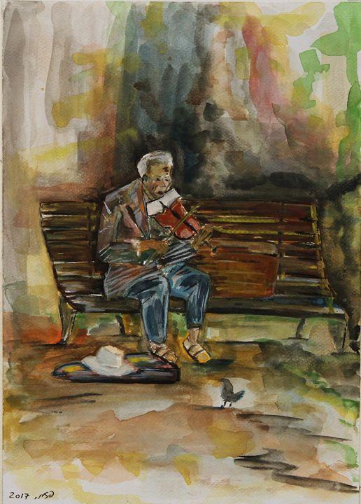The Violinist - Pazit Goldstein