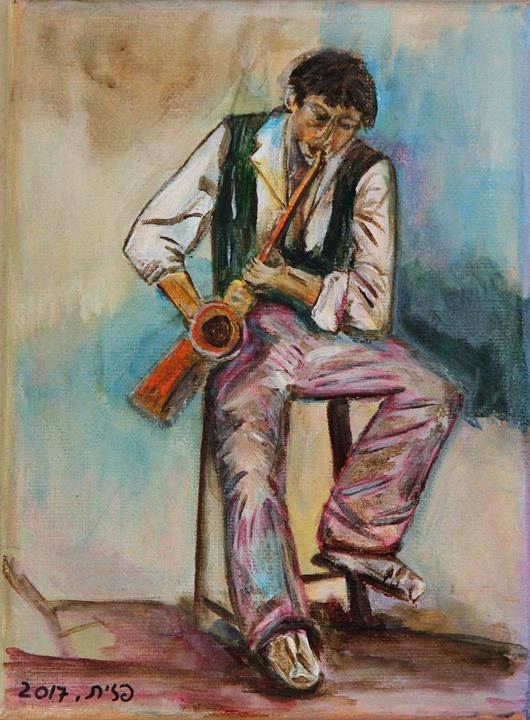 The Saxophonist - Pazit Goldstein