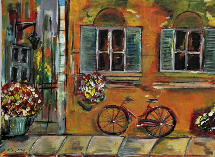 Colorful Street - Pazit Goldstein