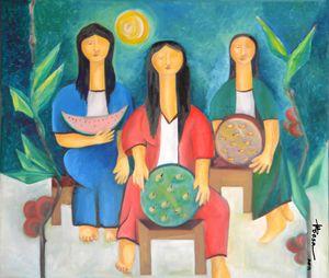 Three Women Vendors