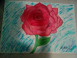 Blooming to a beautiful rose