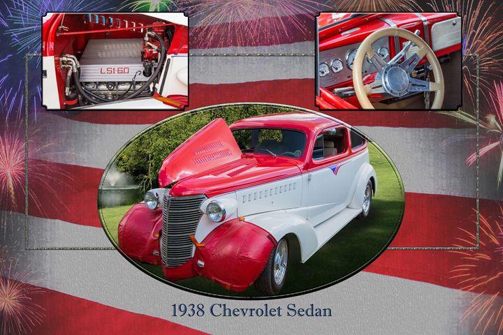 5515.02 1938 Chevrolet Sedan - M K Miller III