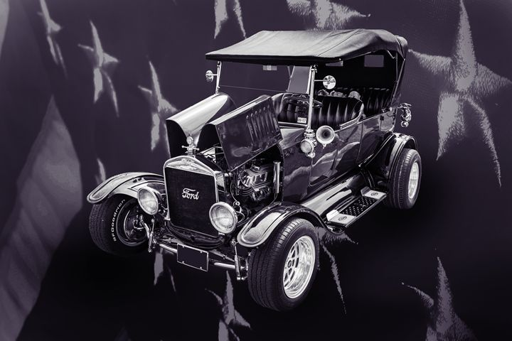 1924 Ford Model T Touring Hot Rod 55 - M K Miller III